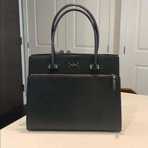 Kate Spade Black Leather Bag - NEW
